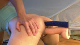 Секс машина - двойное проникновение анал и вагина