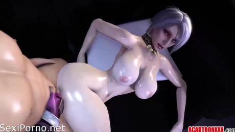 Секс с девушки монстнами, порно мультик 3d